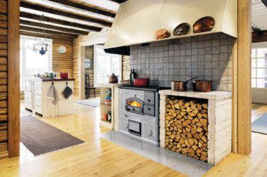 Печи-духовки и плиты