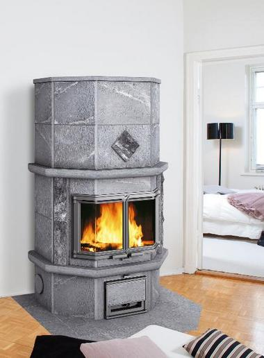 Печи-камины, аккумулирующие тепло
