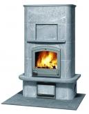 Печь-камин, аккумулирующий тепло Туликиви TU1450/1 (Tulikivi, Финляндия)