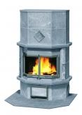 Печь-камин, аккумулирующий тепло Туликиви TU1237/51 (Tulikivi, Финляндия)