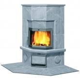 Угловая печь-камин, аккумулирующий тепло Туликиви KTU1130/3D (Tulikivi, Финляндия)