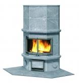 Угловая печь-камин, аккумулирующий тепло Туликиви KTU1337/91 (Tulikivi, Финляндия)