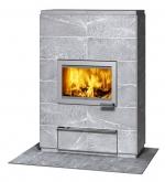 Печь-камин, аккумулирующий тепло Туликиви VALKIA2D (Tulikivi, Финляндия)