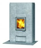 Печь-камин, аккумулирующий тепло Туликиви SARMI/C (Tulikivi, Финляндия)