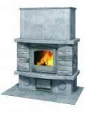 Печь-камин, аккумулирующий тепло Туликиви TU2200/1 (Tulikivi, Финляндия)