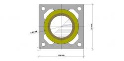Дымоход ШИДЕЛЬ UNI без вентканала (Schiedel, Германия) D=160 мм