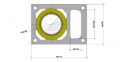 Дымоход ШИДЕЛЬ UNI с вентканалом (Schiedel, Германия) D=140 мм