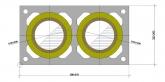 Дымоход ШИДЕЛЬ UNI без вентканала (Schiedel, Германия) D=140/140 мм