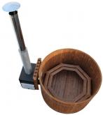 Купель KIRAMI из термодерева с выносной печью Original Woody M Cube TW (Кирами, Финляндия)