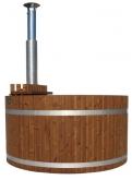 Купель KIRAMI из термодерева с выносной печью Original Woody L SUB TW (Кирами, Финляндия)