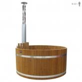 Купель KIRAMI из термодерева с выносной печью Original Woody XL SUB TW (Кирами, Финляндия)