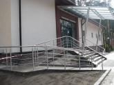 Уличная лестница из гранита Tan Brown в гольф клубе
