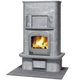 Печь-камин, аккумулирующий тепло Туликиви TU1450/2 (Tulikivi, Финляндия)