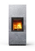 Печь-камин, аккумулирующий тепло Туликиви Kammi 14 Classik (Tulikivi, Финляндия)